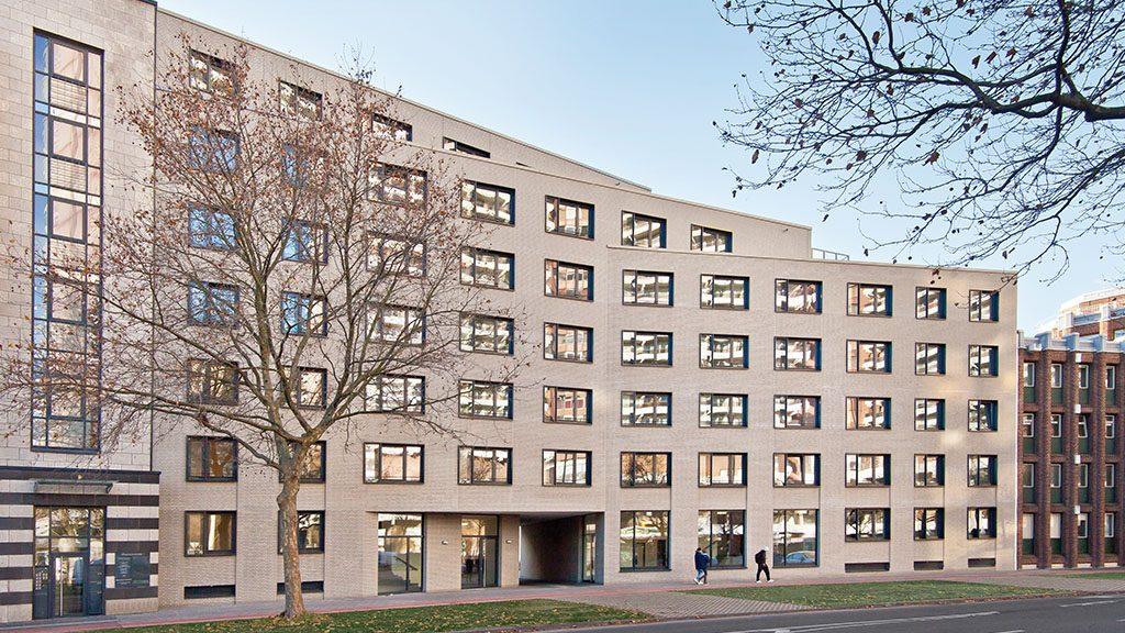 ABC-Klinker Referenzen Klinkerriemchen Friedrichshain Wohnprojekt UNI.3 in Köln