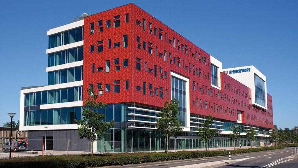 ABC-Klinker Referenzen Klinkerriemchen Sonderbrand Hochschule Utrecht im Amersfoort
