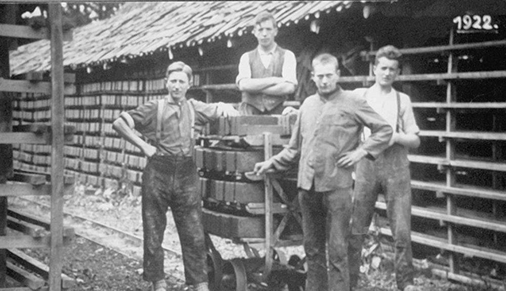ABC-Klinker Historie 1922