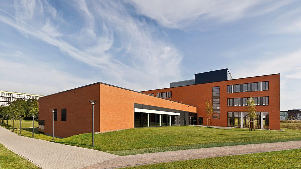ABC-Klinker Referenzen Verblendklinker Sonnenrot Technische Universität in Dortmund