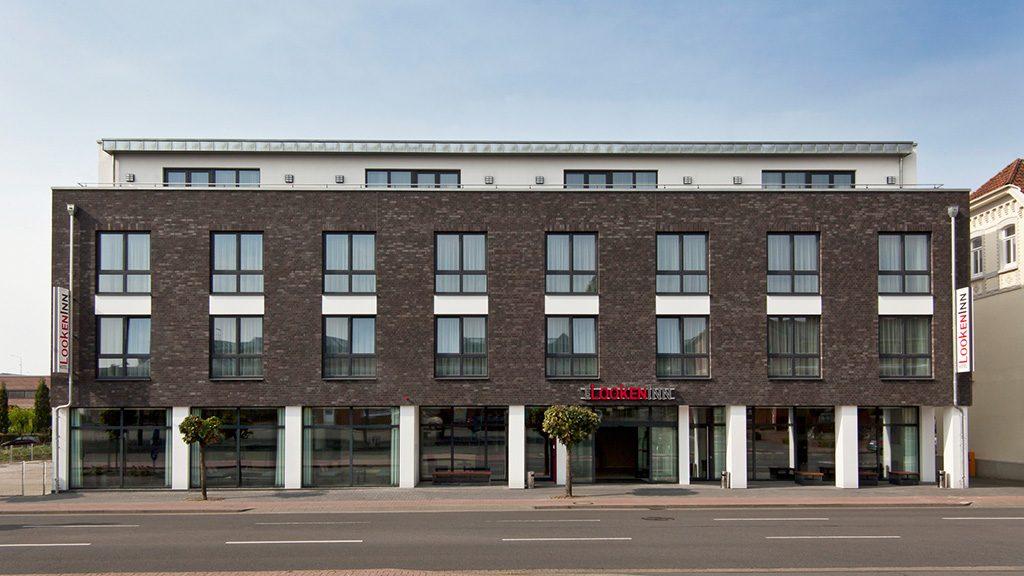 ABC-Klinker Referenzen Verblendklinker aquaterra Rauchschwarz Hotel LookenInn in Lingen
