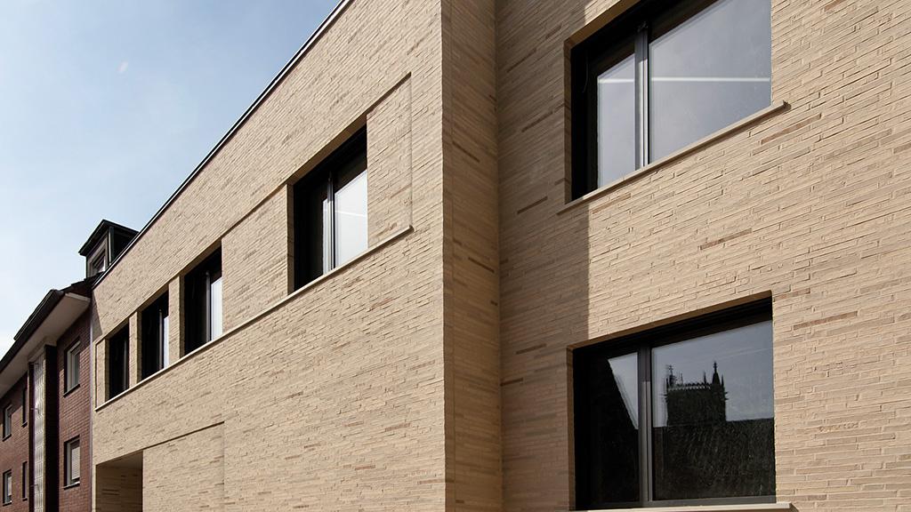 ABC-Klinker Referenzen Verblendklinker aquaterra Colima Gesamtschule in Münster