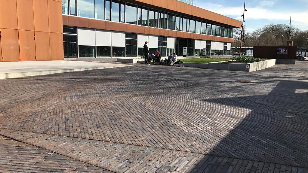 ABC-Klinker Referenzen Pflasterklinker Gotland Objekt Schule in Dänemark