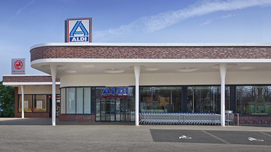 ABC-Klinker Referenzen Verblendklinker _Brandenburg rot-bunt Einkaufszentrum Dietrichsfeld in Oldenburg