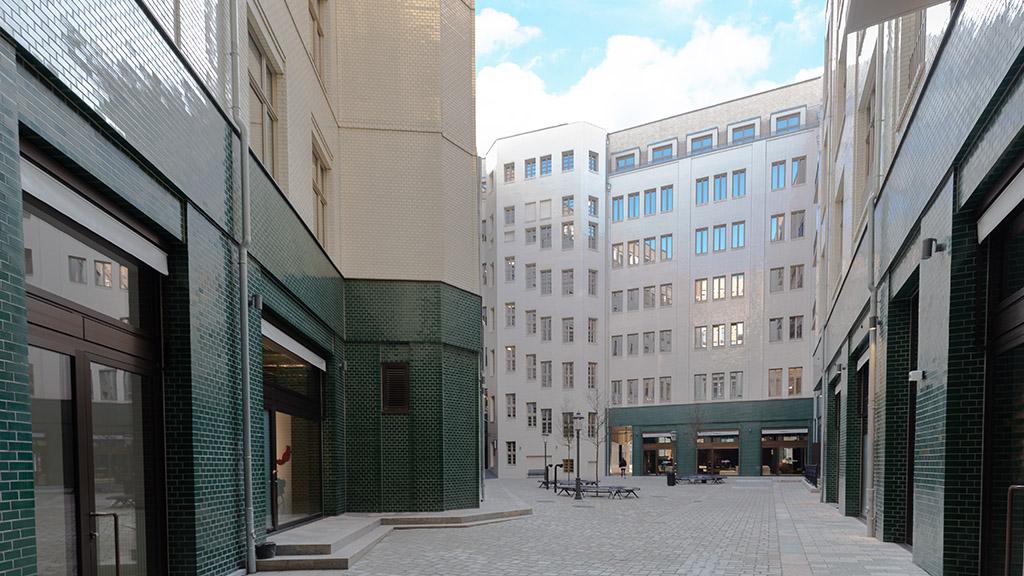 ABC-Klinker_Glasierte Klinkerriemchen_Sonderbrand Stadthöfe_Objekt Stadthöfe Große Bleichen, Hamburg (4)