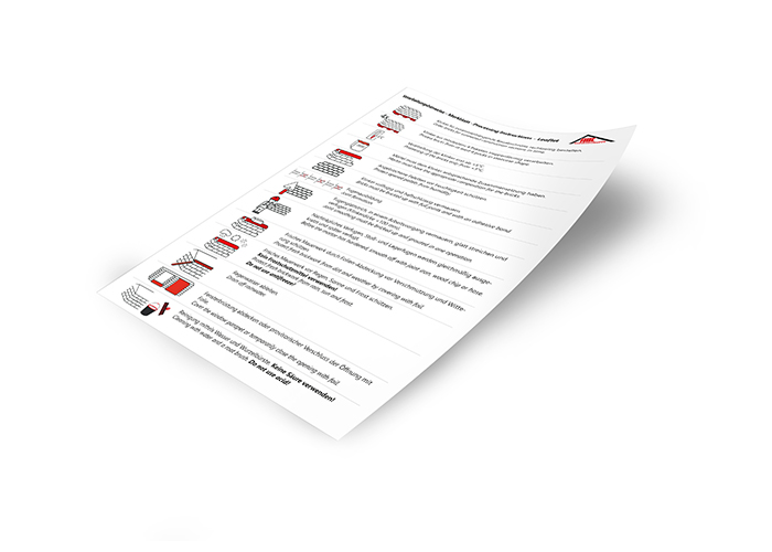 Processing Instructions - Leaflet DE/EN