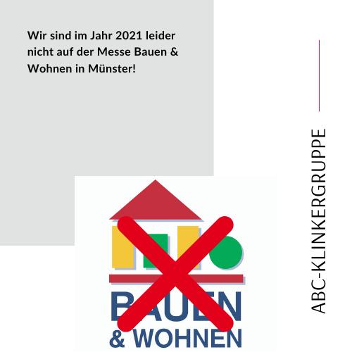 Absage Bauen&Wohnen 2021
